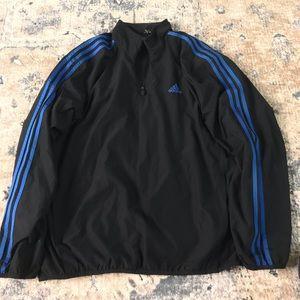 Vintage adidas track jacket windbreaker pullover
